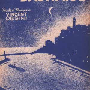 Barcarolle Bastiaise