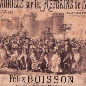 Quadrille sur les refrains de 1789