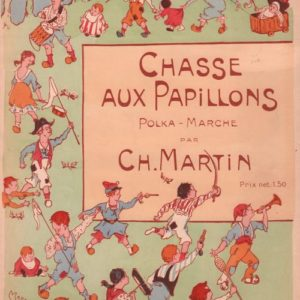 Chasse aux papillons