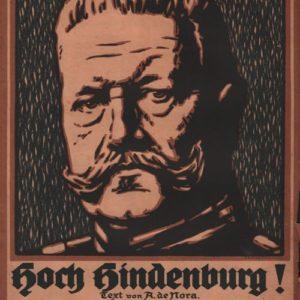 Hoch Hindenburg !