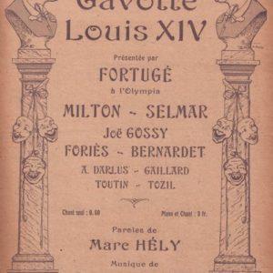 Gavotte Louis XIV