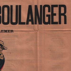 Chansons du Général Boulanger (Les)