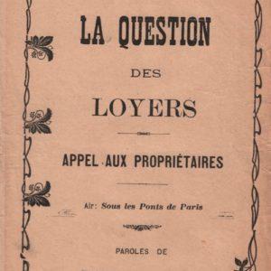 Question des loyers (La)