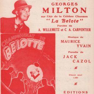 Champion de la Belotte (Le)