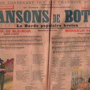 Chansons authentiques de Botrel