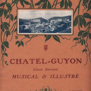Chatel Guyon album Souvenir Musical et Illustré