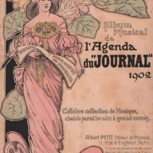 Album Musical de l'Agenda du Journal 1902