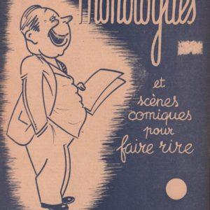 Douze monologues et scènes comiques pour faire rire