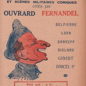 Recueil de dix Monologues et scènes Militaires comiques