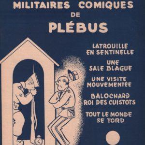 Cinq sketches Militaires comiques de Plébus