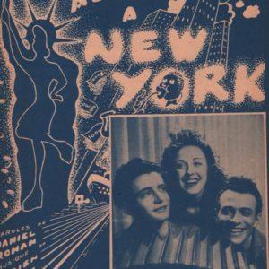 Je veux aller à New-York