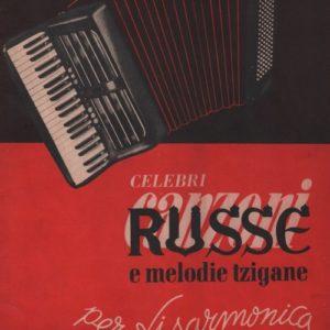 Album Celebri Canzoni Russe e melodie tzigane