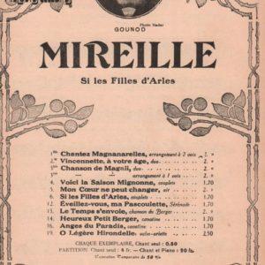 Si les filles d'Arles