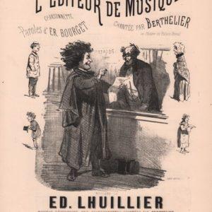 Editeur de Musique (L')
