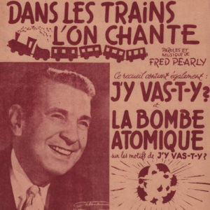 Dans les trains l'on chante