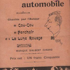 Inauguration automobile