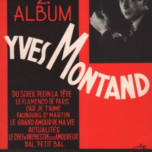 Yves Montand album numéro 2