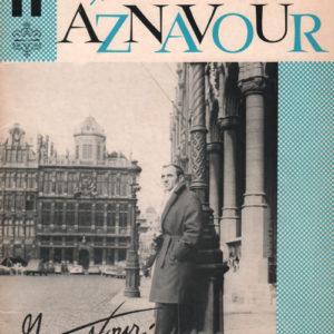 Album Charles Aznavour Onze succès