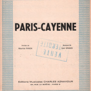 Paris Cayenne