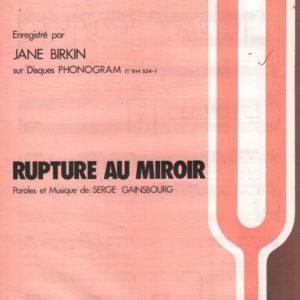 Rupture au miroir