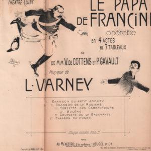 Papa de Francine (Le)