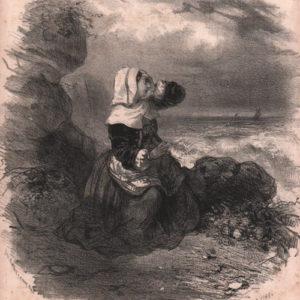 Sur un rocher