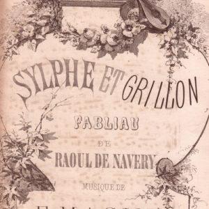 Sylphe et grillon