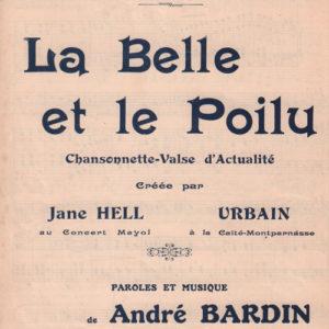 Belle et le Poilu (La)
