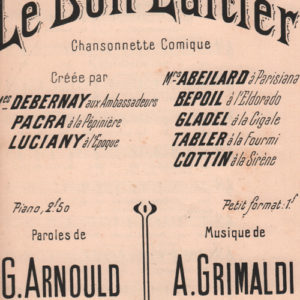 Bon laitier (Le)