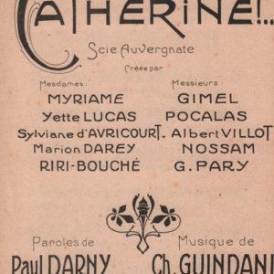 Catherine !