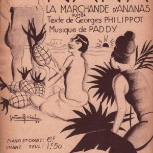 Nana la marchande d'ananas