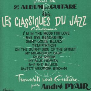 Album guitare série les classiques du Jazz
