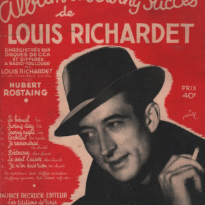 Album des Swing succès de Louis Richardet