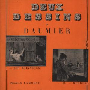 Deux dessins de Daumier