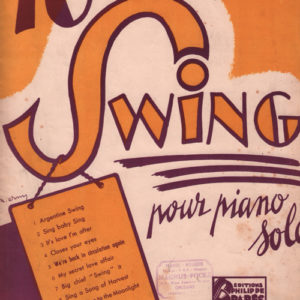 Album de 10 transcriptions Swing