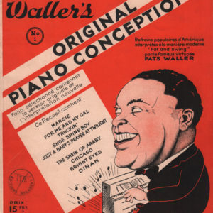 Album Fats Waller original piano conceptions
