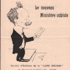 Nouveau Ministère Cubiste (Le)