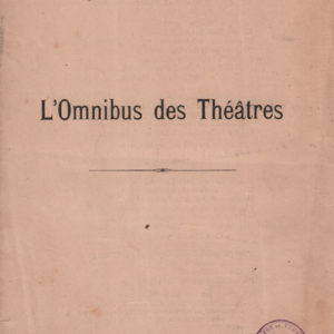 Omnibus des Théâtres (L')
