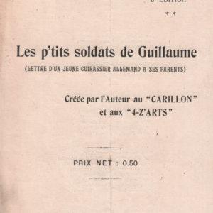 P'tits soldats de Guillaume (Les)