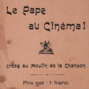 Pape au cinéma (Le)