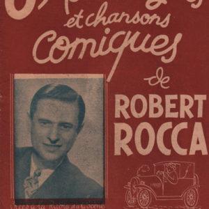 Huit Monologues et chansons comiques de Robert Rocca