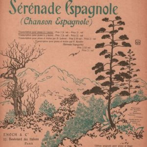 Sérénade Espagnole