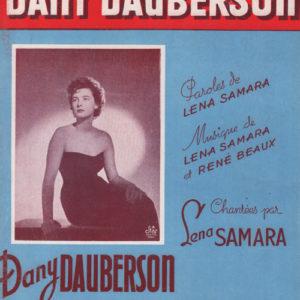 Chansons de Dany Dauberson (Les)