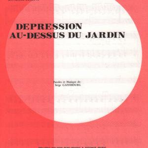 Depression au-dessus du jardin