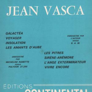 Chansons de Jean Vasca (Les)