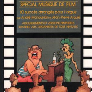 album orgue n°1 special musique de film