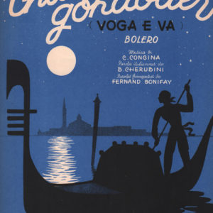 Chante gondolier