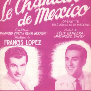 Chanteur de Mexico (Le) 2e Receuil
