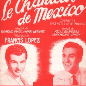Chanteur de Mexico (Le) 1er Recueil