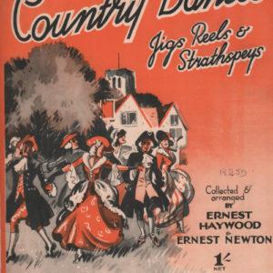 Country Dances jigs Reels and Strathspeys